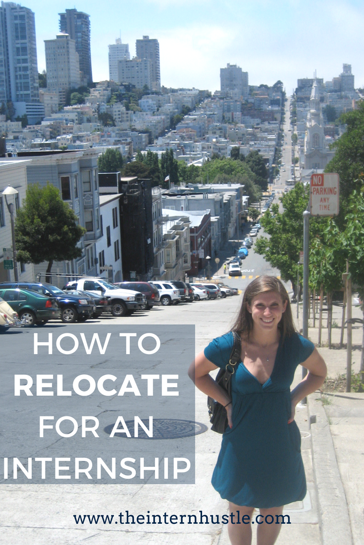 How to Relocate for an Internship