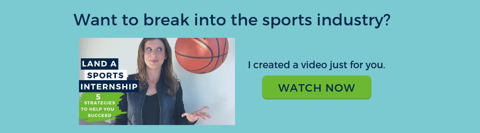 sports internships