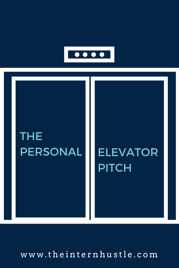 How to Network with Your Personal Elevator Pitch