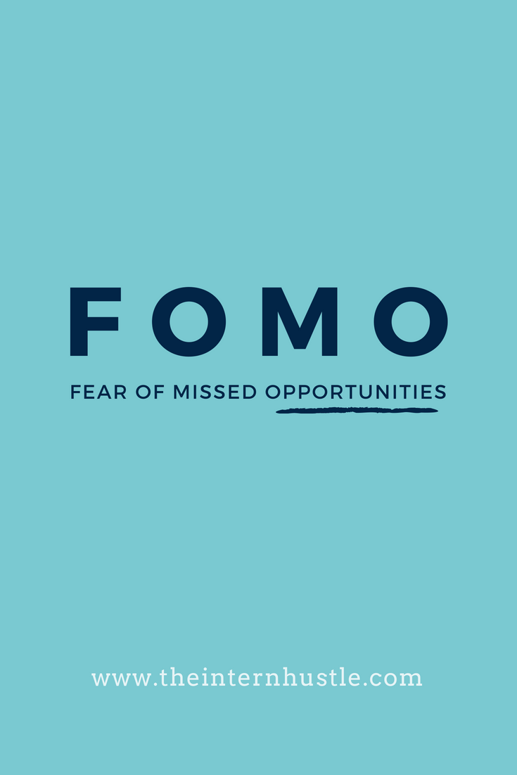 Choose Your Own Adventure: FOMO Edition