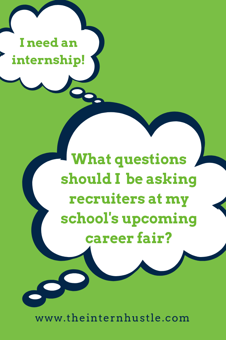 Questions to Ask Recruiters at a Career Fair