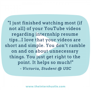 the intern hustle youtube