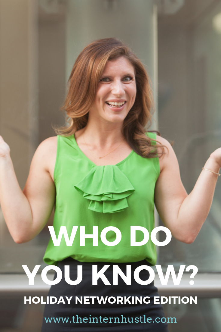 Who Do You Know? (Holiday Networking Edition)