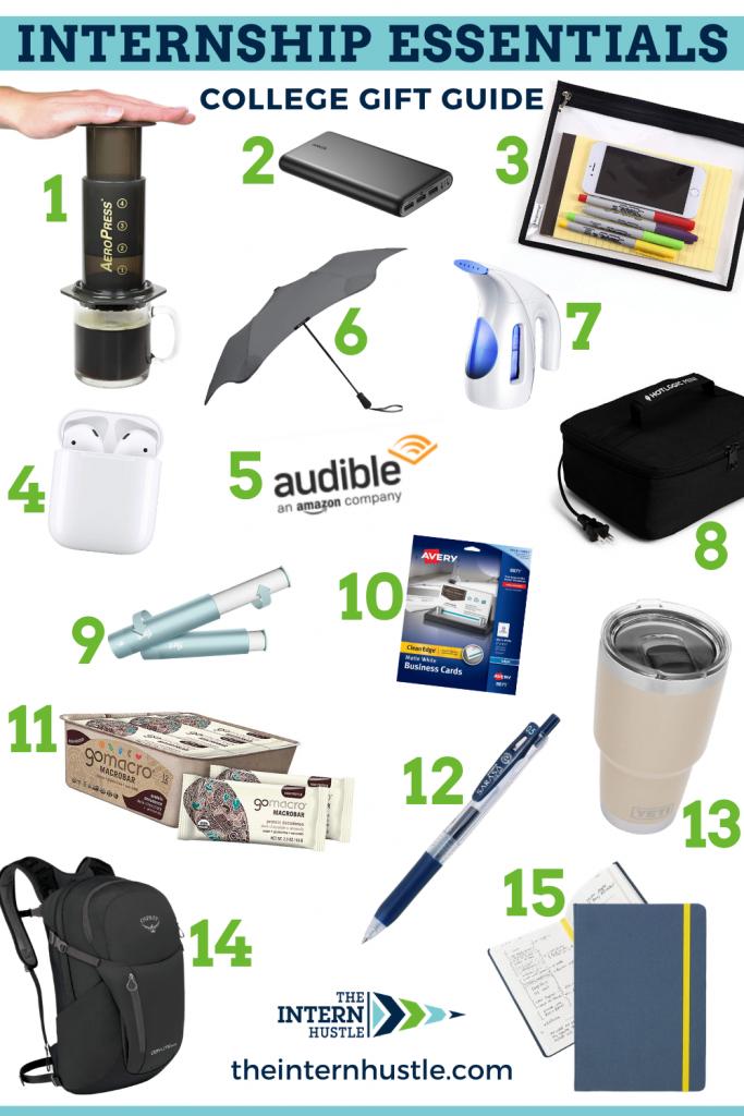 internship essentials gift guide