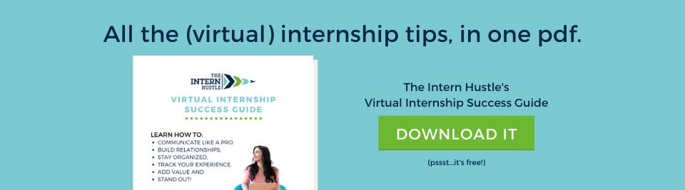 virtual internship success guide