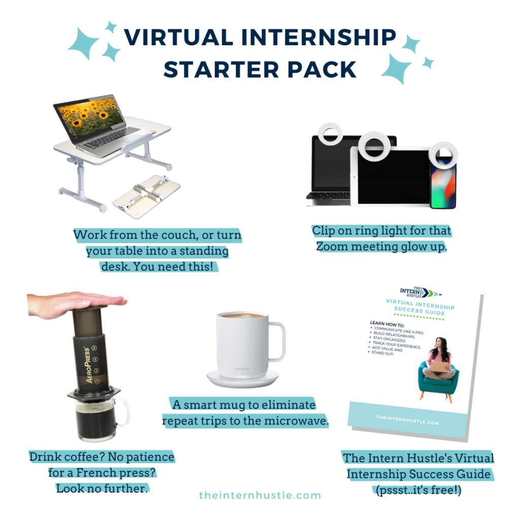 virtual internship starter pack