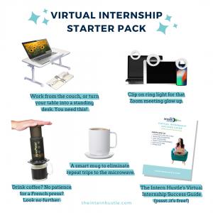virtual internship starter pack